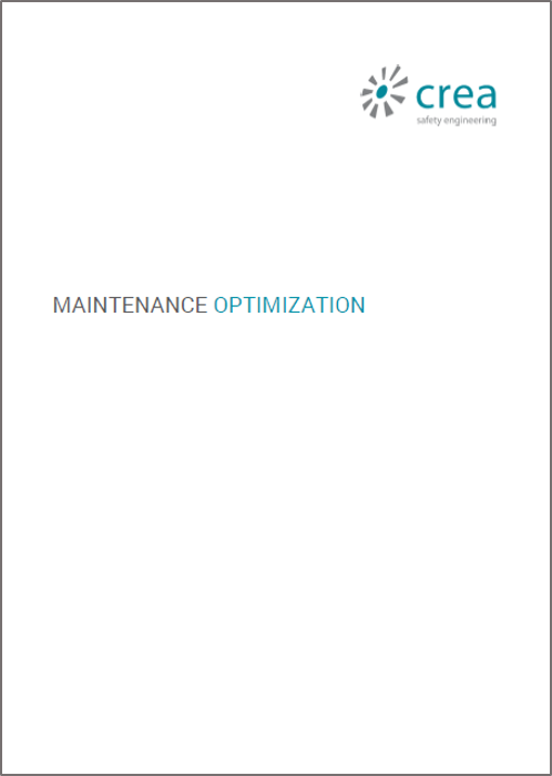 Maintenance Optimization