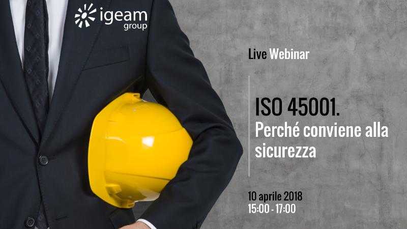ISO 45001 webinar