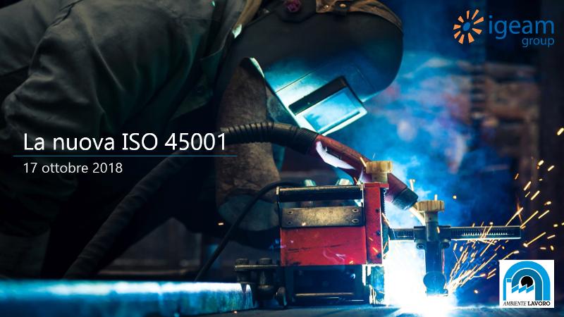 ISO 45001 corso Fiera Bologna
