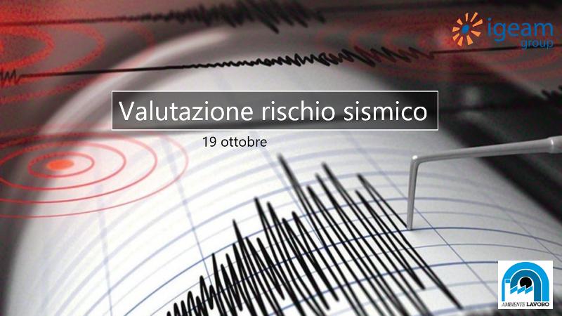 Valutazione rischio sismico Igeam
